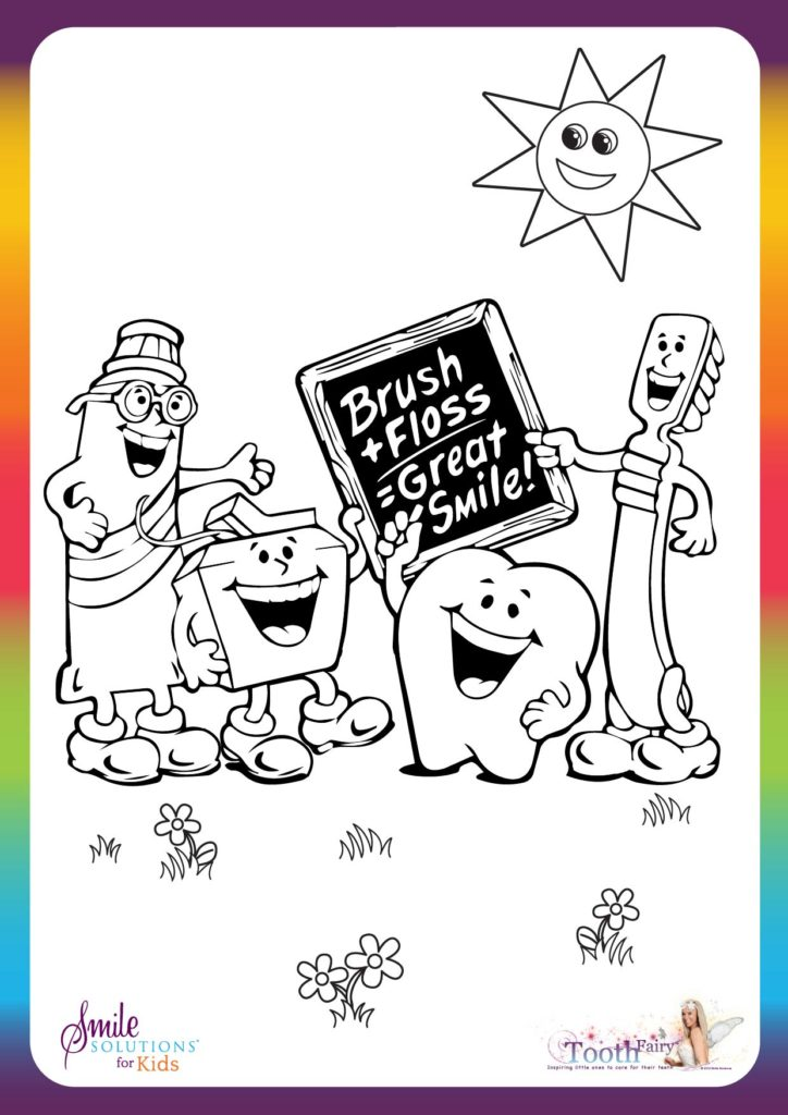 dental colouring in