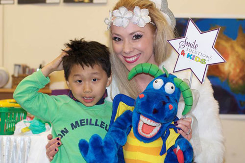 Kinder dentist visit