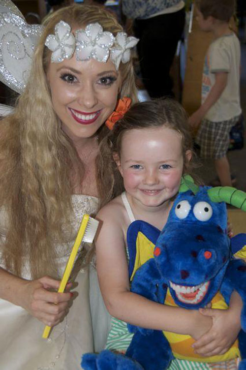 Smile Solutions' Tooth Fairy incursion Care Centre