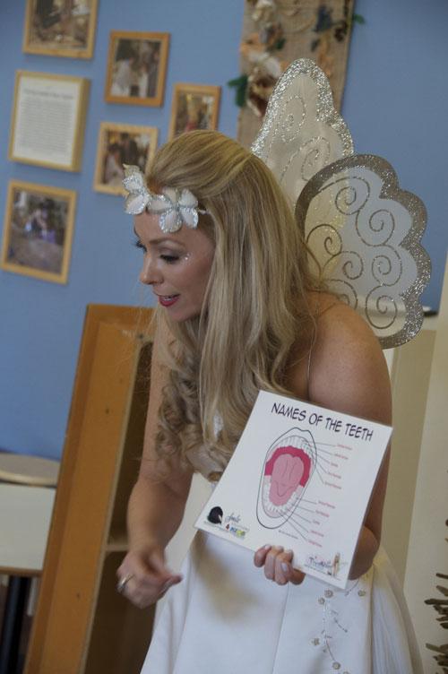 kindergarten tooth fairy visit