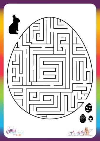 Easter Egg Maze Activity